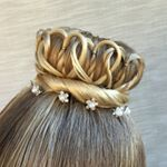 "3,385 Likes, 50 Comments - Ashley Cardon (@ashley_cardon_hairstyles) on Instagram: ""We have a lot going on today so I'm hoping that this elastics hairstyle will stay in all day! I…"""