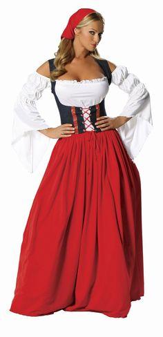 Swiss Miss Oktoberfest costume - Beer Server - German Girl
