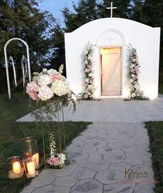 Γάμος σε κτήμα,ροζ άσπρες ορτανσίες. wedding flower arch white pink hydrangea