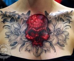 Digging the flowers .........… skull not so much