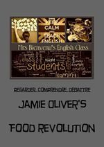 Jamie Oliver's food revolution-3 videos and worksheet with answer keys maintenant sur