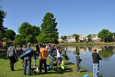 Bark in the Park, KidFish, & National Kids to Parks Day Kennedale, TX #Kids #Events