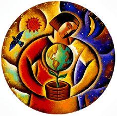 Día de la Tierra.  Abril 22.