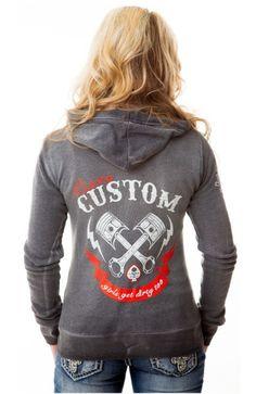 Vixen Custom Zip Hoodie