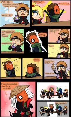 Naruto Akatsuki Funny, Funny Naruto Memes, Naruto Comic, Naruto Cute, Naruto Sasuke Sakura, Itachi, Naruto Shippuden, Boruto, Funny Memes