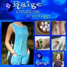 Raige Creations & Vintage featured Artisan - On Fire for Handmade