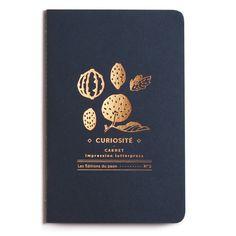 Carnet de notes artisanal - LES EDITIONS DU PAON - Carnet letterpress