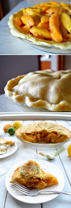 Mango Pie with Toasted Coconut and Whipped Cream Recipe by The Woks of Life