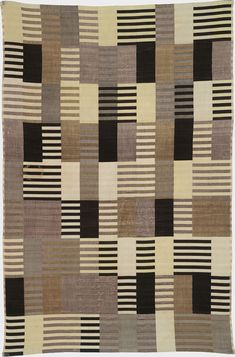 Tile inspiration: Bauhaus textiles of Anni Albers Atelier Architecture, Bauhaus Textiles, Century Textiles, Women Artist, Anni Albers, Josef Albers, Harvard Art Museum, Art Deco, Bauhaus Design