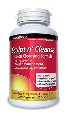 "Listed Price: $34.20 Sculpt n' Cleanse is the most effective, yet gentle and safe colon cleansing formula available. It is the ""First Step"" to a better body and should be used in conjunction with any weight management, bo..."