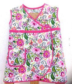 Kimono cotton flowery dress by APegaRabuda on Etsy, €25.75