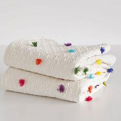 zara home kids tassel quilt