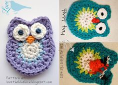 okay, so here is my first try at making an owl.  Please don't laugh too hard.   I used Laura's pattern at:  lovethebluebird.blogspot.com