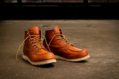 Red Wing Heritage 875 and 877