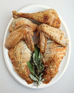 Pin for Later: 16 Foolproof Classic Thanksgiving Dishes Herb-Roasted Turkey Get the recipe: herb-roasted turkey