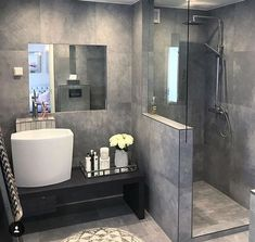 Fenster Dusche - New IdeasDusche Fenster Fenster Dusche Fenster The Do This, Get That Guide On Farmhouse Master Bathroom Ideas French The Do This, Get That Small Bathroom Storage, Bathroom Design Small, Bathroom Styling, Bathroom Interior Design, Modern Bathroom, Small Bathrooms, Small Rooms, Master Bathroom Shower, Bathroom Toilets