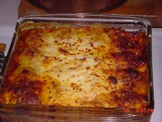 Lasagna..... Homemade Lasagna!