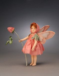 "R John Wright ""The Red Clover Fairy"""