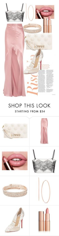 """""""Untitled #592"""" by dreamer3108 ❤ liked on Polyvore featuring ZAC Zac Posen, Michelle Mason, Anne Klein and Christian Louboutin"""