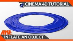 Cinema 4D - Quick Tip - Inflate an object