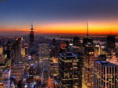 New York City Skyline - wallpaper.