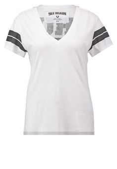 True Religion Tshirt print white Meer info via http://kledingwinkel.nl/product/true-religion-tshirt-print-white-4/