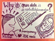 #SenseCamp Why open data is #nobullshitinnovation ?