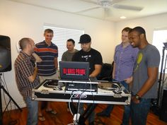 DJ lessons at lunch #teambuilding | PaperStreet