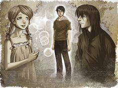 Severus et Lily by HitoFanart on DeviantArt
