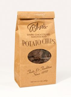 Asher's Dark Chocolate Potato Chip Coffee Bag