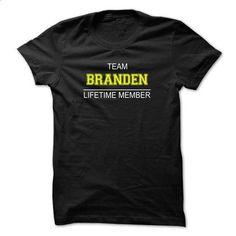 Team BRANDEN Lifetime member - #tshirt typography #tshirt style. ORDER HERE => https://www.sunfrog.com/Names/Team-BRANDEN-Lifetime-member-uerxg.html?68278