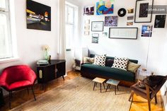 Apartment in Warsaw with collection of art and polish design from 50's and 60's. All furniture are original pieces.  And you can rent it if you would like to visit Warsaw!