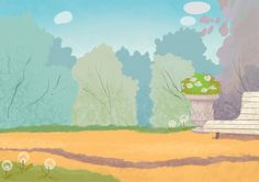 Background art on Behance