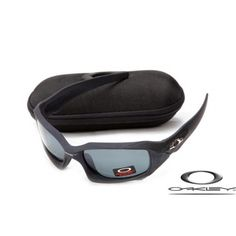 5b60d561bd Fake Oakleys pit boss matte black   orion blue iridium Oakley Batwolf
