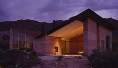 Tucson Mountain House, Tucson, Arizona, 2001* Rick Joy Architects