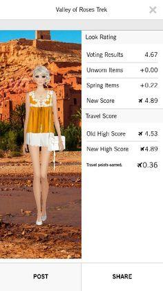 Valley of Roses Trek Covet Fashion Jet Set