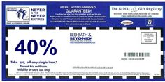 Bed Bath and Beyond new coupons and discount codes Free Printable Coupons, Printable Templates, Custom Return Address Stamp, Online Coupons, Store Coupons, Outdoor Baby, Bath And Beyond Coupon, Paint Colors For Home, Comforter Sets