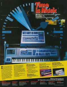 Synthesizer website dedicated to everything synth, eurorack, modular, electronic music, and more. Vintage Ads, Vintage Posters, Vintage Synth, Arduino, Music Production Equipment, Moog Synthesizer, Home Music, Monitor, Music Themed Parties