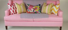 How to style a sofa. Thought you would love this article. your new blanket will be perfect for it!