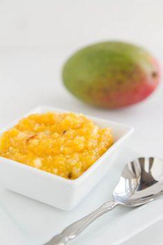 Roasted Mango Habanero Salsa- I am in LOVE with mangoes.