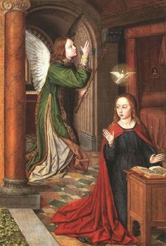Master of Moulins - The Annunciation (1500)