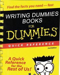 writing-dummies-books-for-dummies Analyzing Authors Craft