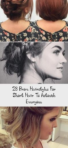 """28 Prom Hairstyles for Short Hair to Astonish Everyone, Short Prom Hairstyles The dress is purchased, now you need to decide on your prom hairstyles.Do not worry about """"What are the fashion trends of the ..., Short Hairstyles #promhairBlonde #promhairAndMakeup #promhairWaves #promhairPonyTail #promhairStepByStep #EasyBeautifulHairstyles #SimpleElegantHairstyles Prom Hairstyles For Short Hair, Loose Hairstyles, Wedding Hairstyles, Easy And Beautiful Hairstyles, Beach Curls, Coconut Hair, Short Prom, Wedding Hair Accessories, Short Hair Styles"""