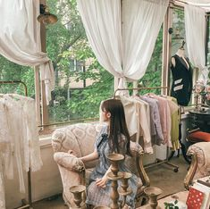Imagem de asian, female, and korean Ulzzang Korean Girl, Cute Korean Girl, Asian Girl, Light Blue Aesthetic, Angels Beauty, Happy Room, Girl Korea, Uzzlang Girl, Korean Couple