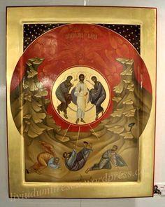 Unusual icon of the transfiguration - Byzantine Byzantine Art, Byzantine Icons, Religious Icons, Religious Art, Transfiguration Of Jesus, Christian Artwork, Catholic Art, Art Icon, Traditional Paintings
