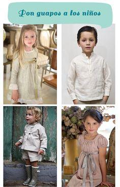 Vestidos de niños para una boda