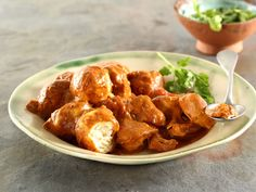 From the YOU test kitchen: Chicken tikka with dumplings South African Recipes, Ethnic Recipes, Chicken Tikka, Chicken And Dumplings, Test Kitchen, Easy Dinners, Kos, Food Inspiration, Chicken Recipes