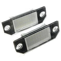 8.34$  Watch now - http://ali0ly.shopchina.info/go.php?t=32423032179 - 2 x 12V 24 LEDs Bulb License Number Plate Rear Light Lamps For Ford Focus C-MAX 03-07 8.34$ #aliexpresschina
