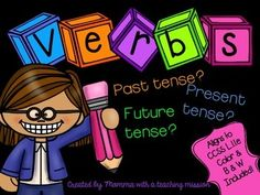 Verb Tense - this mini-unit is to be used to teach your students verb ...