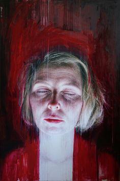 Viktoria Savenkova | works Dreams of Maria oil on canvas, 100x150cm